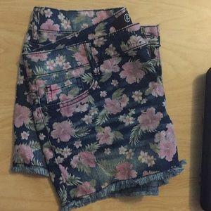 Rewash floral shorts